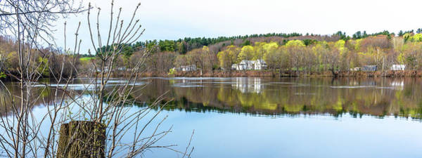 Wall Art - Photograph - Springtime On The Androscoggin by Laurie Breton