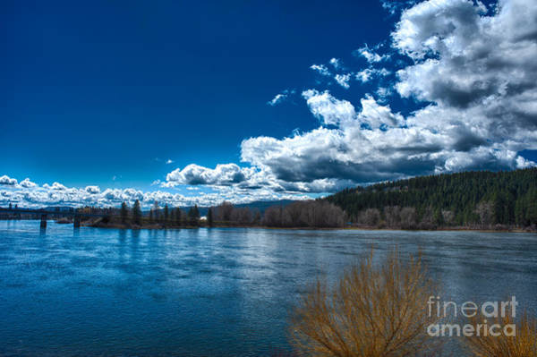 Photograph - Springtime On The Spokane River by Matthew Nelson