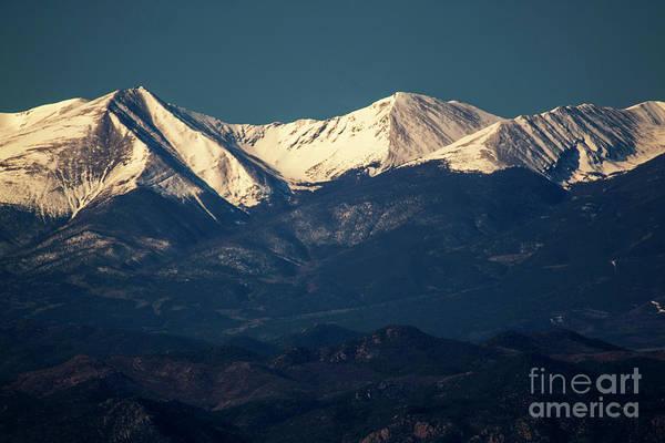 Photograph - Springtime Sangre De Cristo Mountains by Steve Krull