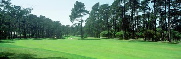 Pebble Beach Golf Course Photograph - Spyglass Golf Course Pebble Beach Ca Usa by Panoramic Images