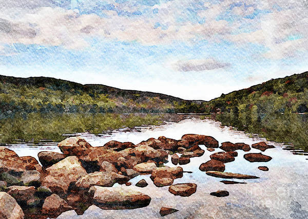 Wall Art - Photograph - Squantz Pond by DiFigiano Photography