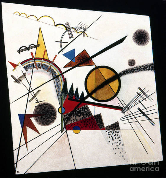 Photograph - Square, 1923 by Wassily Kandinsky