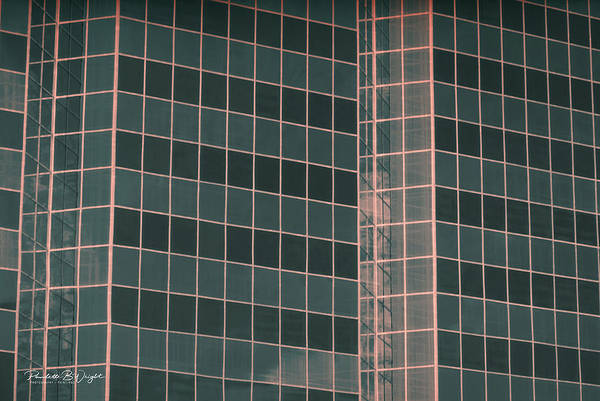Photograph - Square Glass Angles by Paulette B Wright