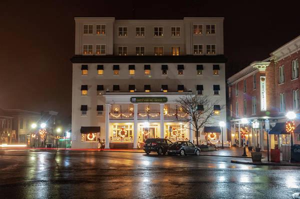 Photograph - Square Hotel by Dan Urban