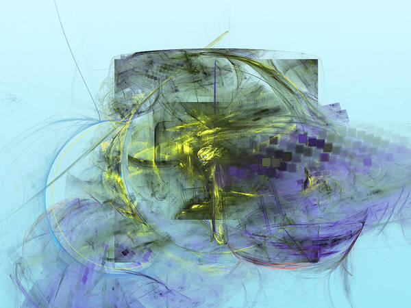 Digital Art - Square The Circle by Jeff Iverson