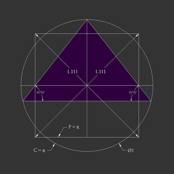 Digital Art - Squared Circle Pyramid by Scott Onstott