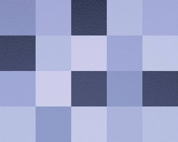Wall Art - Digital Art - Squares Blue - Horizontal by Peter Tellone