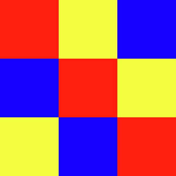 Digital Art - Squares Of Red And Yellow And Blue by Bill Swartwout Photography