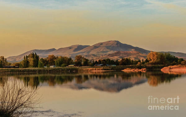 Wall Art - Photograph - Squaw Butte Reflection by Robert Bales