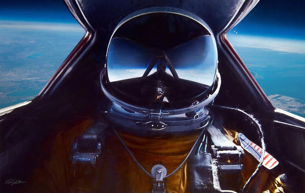 Wall Art - Digital Art - Sr-71 Selfie by Peter Chilelli