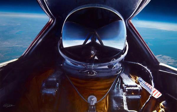 United States Air Force Digital Art - Sr-71 Selfie by Peter Chilelli