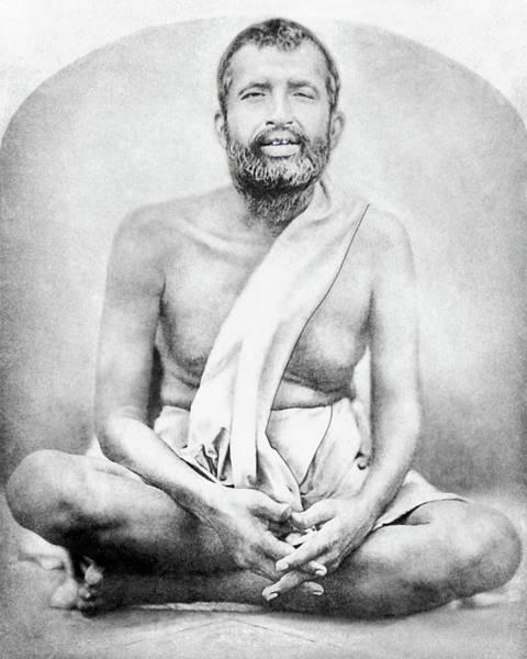 Sri Ramakrishna Art Print