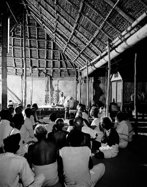 Religion Photograph - Sri Ramana Maharshi by Eliot Elisofon