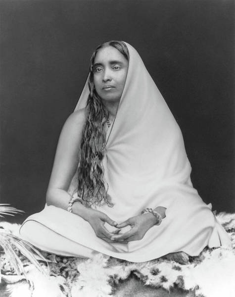 Photograph - Sri Sarada Devi by Mr Harrington