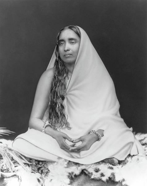 Sri Sarada Devi Art Print