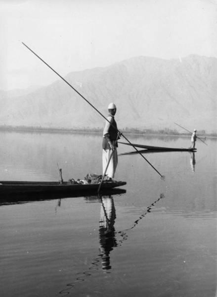 Dal Lake Photograph - Srinagar Lake by Keystone Features