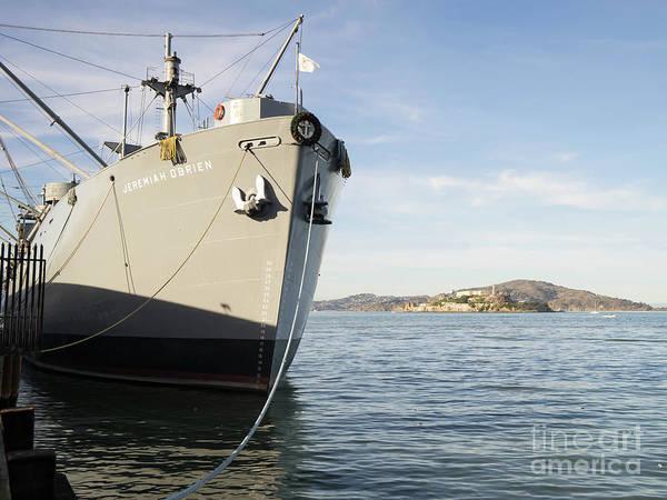 Photograph - Ss Jeremiah Obrien Liberty Ship At San Francisco Fishermans Wharf Dsc6868 by Wingsdomain Art and Photography
