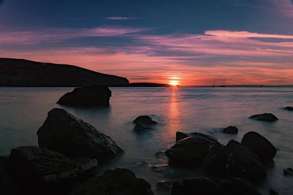 Photograph - Sunset At Balandra Beach 2 by Silvia Marcoschamer