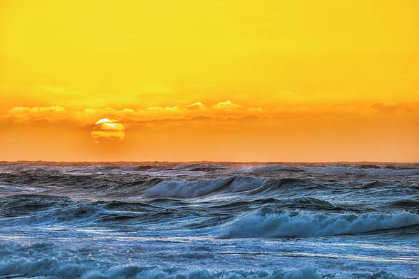Sunset On A Windy Evening Art Print by Fernando Margolles