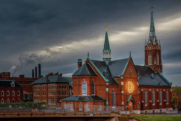 Photograph - St Agatha Church by Robert FERD Frank