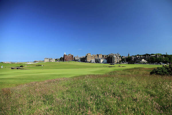 Golf Course Photograph - St Andrews Old Course by David Cannon