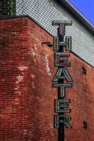 Photograph - St. Ann Warehouse Theatre by Susan Candelario
