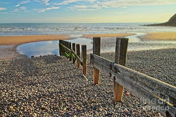 Photograph - St. Bees Beach Cumbria by Martyn Arnold