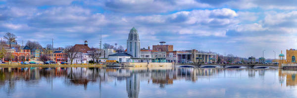 Wall Art - Photograph - St. Charles Municipal Building, Fox by Panoramic Images