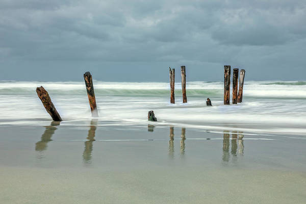 Te Waipounamu Wall Art - Photograph - St Clair - New Zealand by Joana Kruse