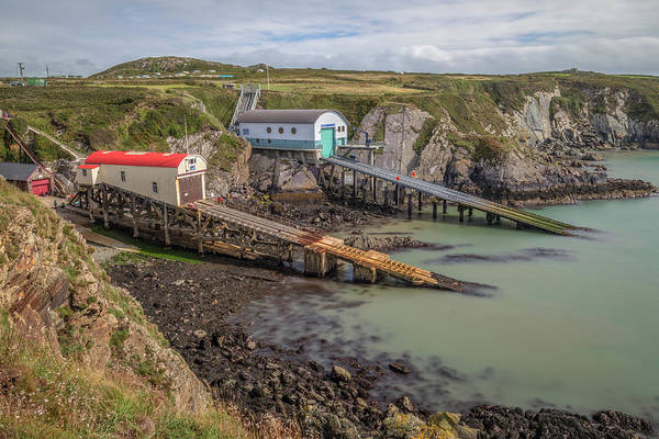 Lifeboat Photograph - St Davids Lifeboat Station - Wales by Joana Kruse
