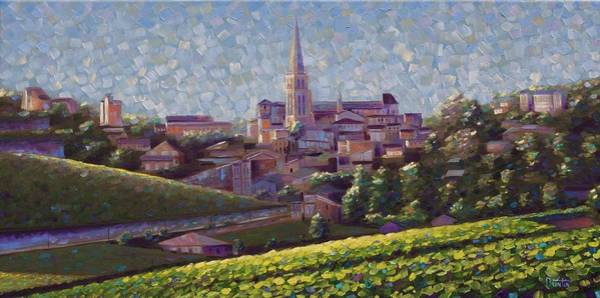Painting - St. Emilion Art by Rob Buntin