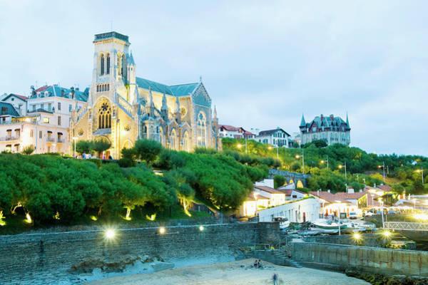 Christianity Photograph - St. Eugene Church, Biarritz, Aquitaine by John Harper