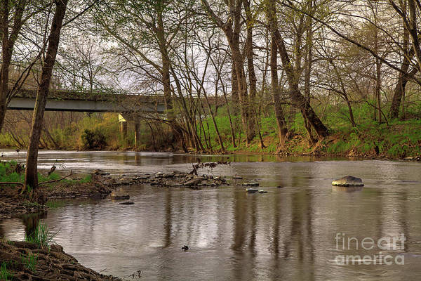 Wall Art - Photograph - St. Francois River At Gruner Ford Access by Larry Braun