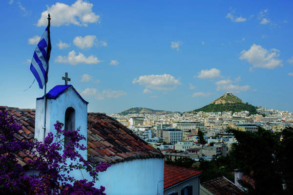 Wall Art - Photograph - St George Of The Rock Cityscape by Cassi Moghan