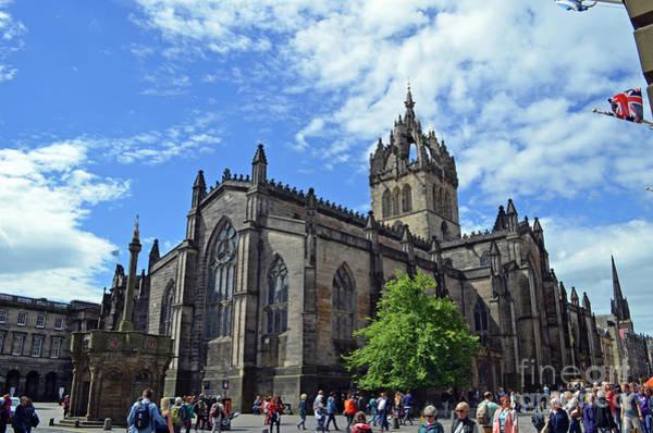 Castles Of Scotland Digital Art - St Giles Edinburgh Scotland by Eva Kaufman
