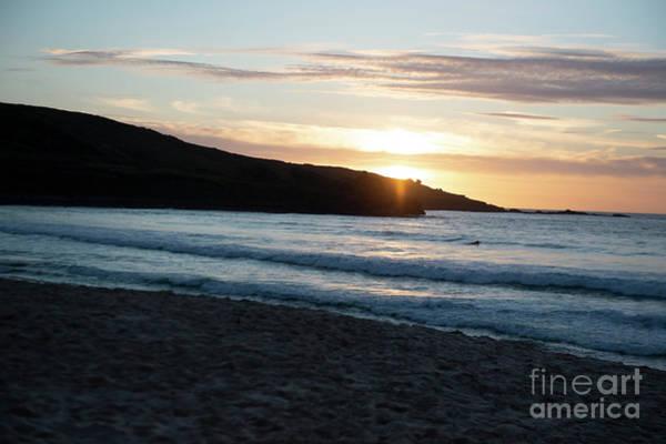 Photograph - St Ives 2019 Sunset Photo 1 by Jenny Potter