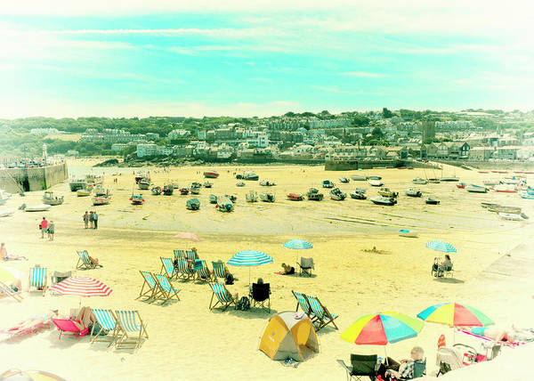 Photograph - St. Ives Beach by Doug Matthews