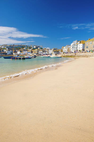 Ives Photograph - St Ives, Cornwall, England, Uk by Ben Pipe Photography