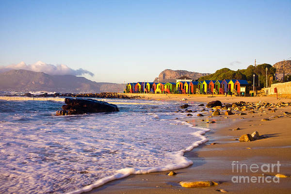 James Photograph - St James Beach With Its Colorful by Andrea Willmore