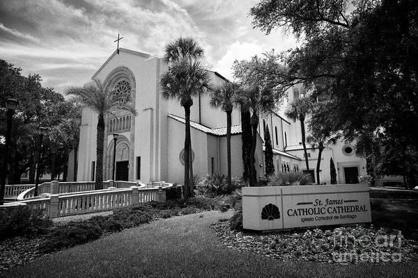 Wall Art - Photograph - St James Catholic Cathedral Orlando Florida Usa by Joe Fox