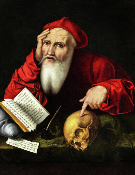 Wall Art - Painting - St Jerome In His Study by Joos van Cleve