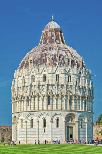 Photograph - St. John Baptistery In Pisa Italy by Gary Slawsky