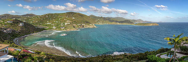 Photograph - St. John Rendezvous Bay Panoramic by Adam Romanowicz