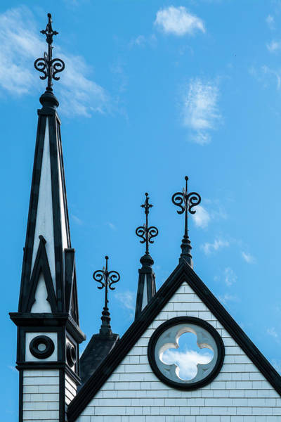 Wall Art - Photograph - St John's Anglican Spires by Ginger Stein