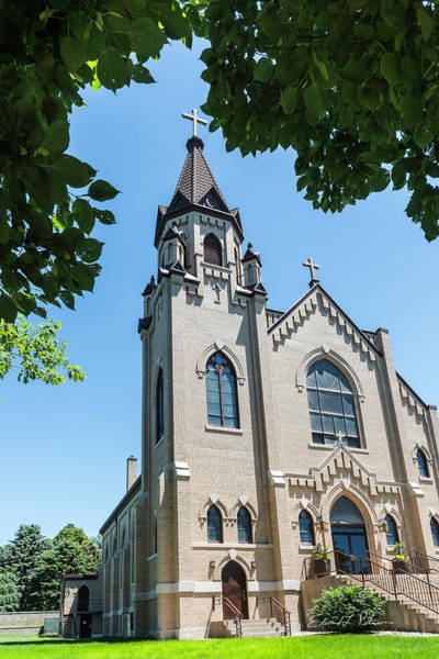 Photograph - St. Joseph Catholic Church by Edward Peterson