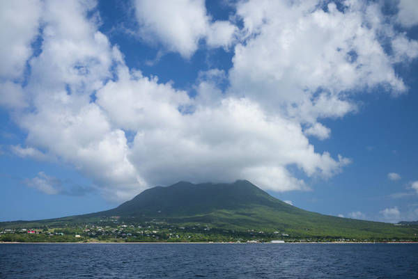 St Kitts Photograph - St Kitts And Nevis, Nevis View Of Nevis by Walter Bibikow