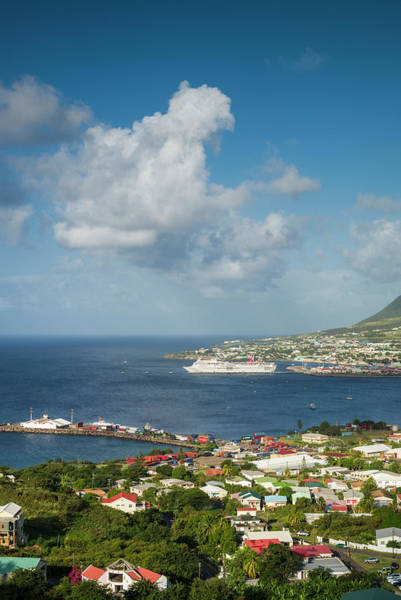 St Kitts Photograph - St Kitts And Nevis, St Kitts Basseterre by Walter Bibikow