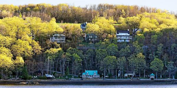 Photograph - St. Lawrence River Homes - Canada by KJ Swan