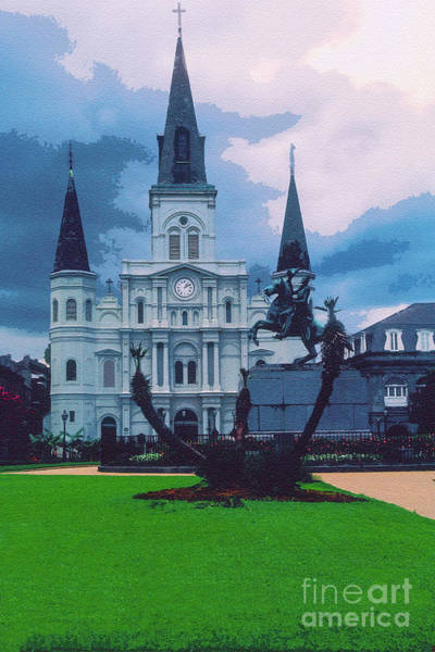 Photograph - St. Louis Cathedral 4 by Bob Phillips