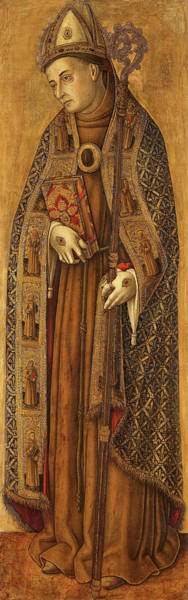 Wall Art - Painting - St Louis Of France, 1502 by Vittore Crivelli